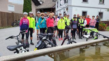 Blejski kolesarski krog ob tednu mobilnosti