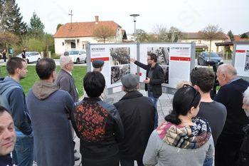 Odprtje razstave Muzeja novejše zgodovine Celje Mesto pod škornjem, 5. april 2016