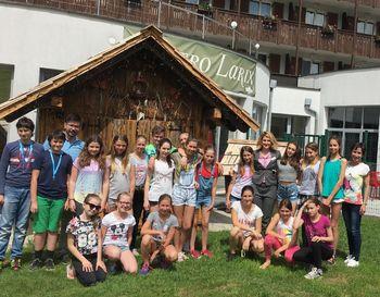 Blejski turistični podmladek v Ramada Hotelu v Kranjski Gori