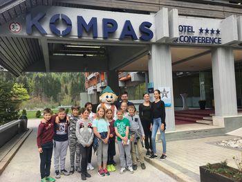 Ekskurzija podjetniško-turističnega krožka v hotel Kompas v Kranjski Gori