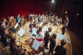 Festival AS, saksofon na Bledu