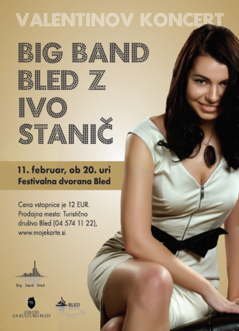 Valentinov koncert Big Banda