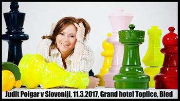 Judit Polgar prihaja na Bled