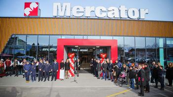 Odprt je nov trgovski center Mercator na Bledu