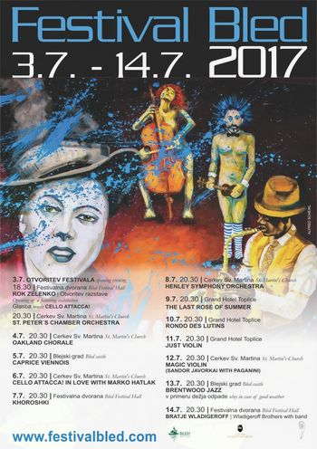 Začenja se Festival Bled