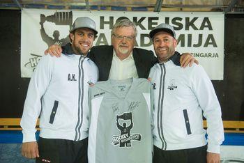 Hokejska akademija Anžeta Kopitarja in Tomaža Razingarja