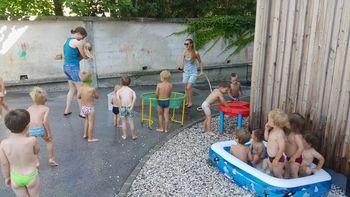 Poletje v vrtcu