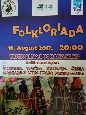 Folkloriada na Bledu