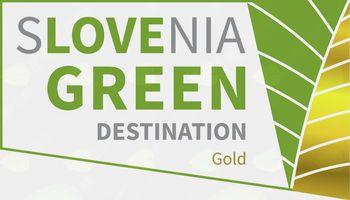 Destinacija ( občina) Bled prejemnica zlatega znaka Slovenia green