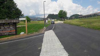 Prenovljen del Savske ceste v Ribnem