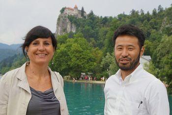Japonska zelena raziskovalca obiskala Bled