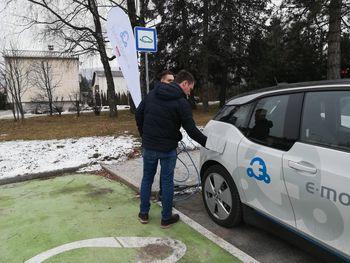 Električna mobilnost na Bledu