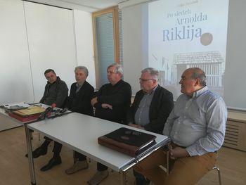 Vojko Zavodnik: Nekaj misli ob izdaji monografije 'Po sledeh Arnolda Riklija'