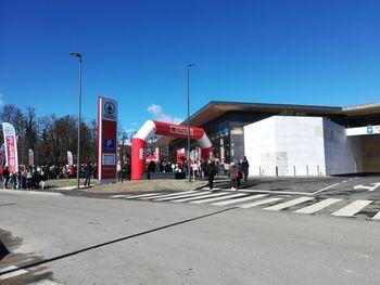 Nova trgovina na Bledu