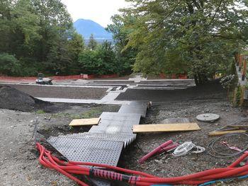 Nova podoba Grajskega parka in novo parkirišče pri Športnem parku Bledec