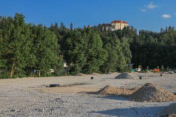 Predstavitev gradnje parkirišča pri Športnem parku Bledec