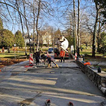 Obnova Jezerske promenade in testni polji