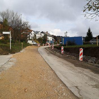 Infrastrukturna dela v občini