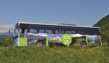 Predstavitvena vožnja avtobusa Hop-On Hop-Off