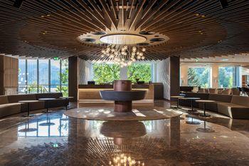 Hotel Park in Kavarna Park z trajnostnima znakoma