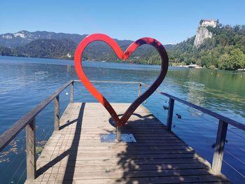 Blejski srček in ljubezenska zgodba