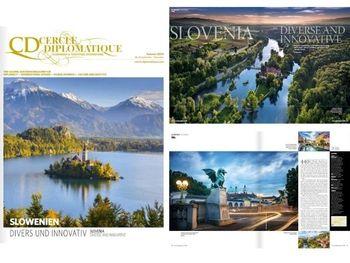 Slovenija z naslovno zgodbo predstavljena v jesenski izdaji revije Cercle Diplomatique