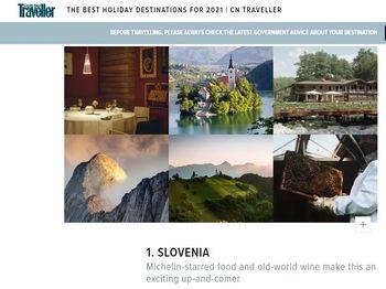 Slovenija med najbolj zaželenimi destinacijami prihodnjega leta
