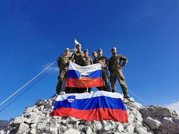 28 let gorske enote Slovenske vojske na Bohinjski Beli