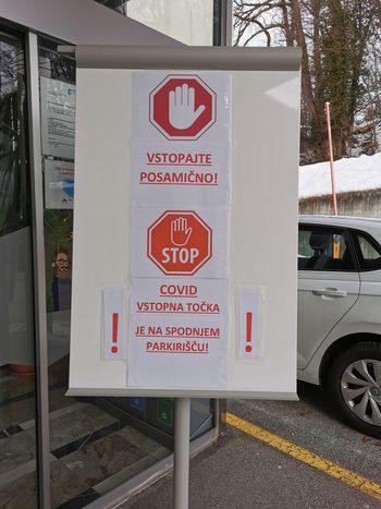 Cepljenje proti koronavirusni bolezni covid-19 na Bledu