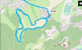 Nov krog tekaških prog na Rečici