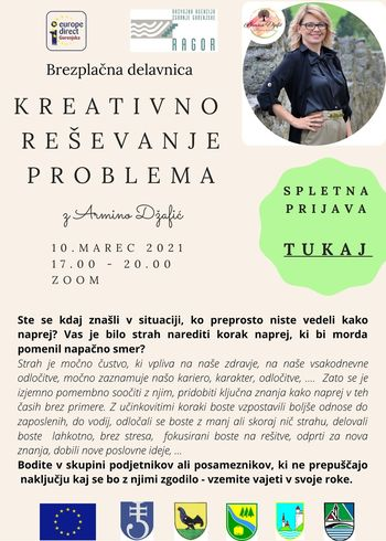 Brezplačna delavnica o kreativnem reševanju problemov