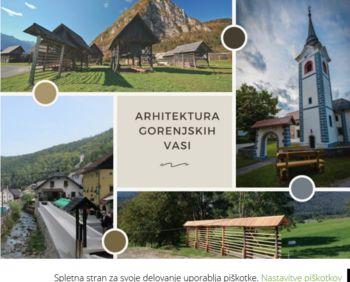 Predstavitev projekta Arhitektura gorenjskih vasi