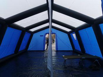 Nov šotor civilne zaščite