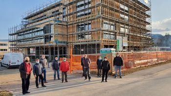 Gradnja Medgeneracijskega centra Bled poteka po načrtih