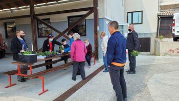 Cvetlični dan Turističnega društva Bled