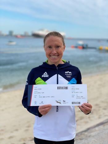 Plavalka Špela Perše gre na olimpijske igre