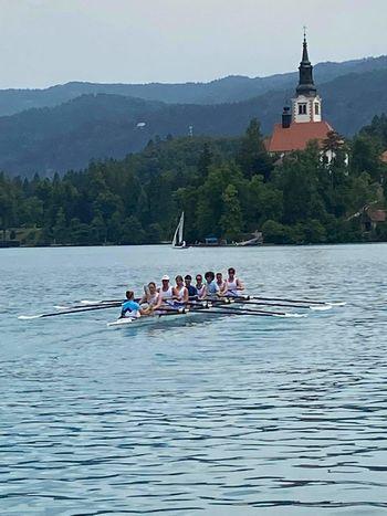 Olimpijska bakla na Bledu