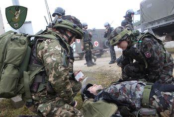 Mednarodna vojaška vaja tudi na Bohinjski Beli in okolici