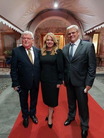 Predsednica Slovaške republike Zuzana Čaputová med obiskom Slovenije obiskala tudi Bled