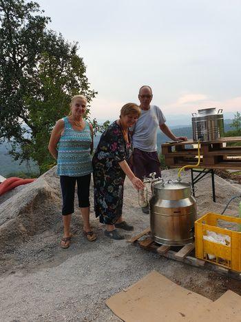 Delavnica o izdelavi soka s pomočjo cevnega pasterizatorja