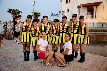 Šentjanške mažoretke iz Grčije prinesle nove medalje