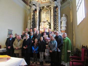 Srečanje jubilantov v Vipavskem Križu