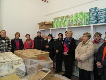 Nova, sveža podoba skladišča hrane v Centru karitas