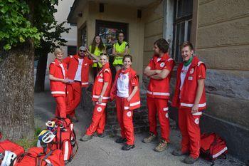 Ekipi prve pomoči na regijskem preverjanju