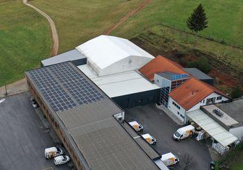 Zeleno pridobivanje elektrike v podjetju Barjans d.o.o.
