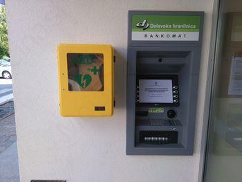 Bankomat v Občini Tabor