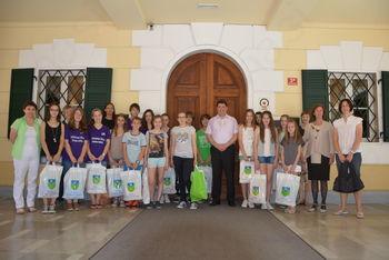 Tradicionalni županov sprejem najboljših osnovnošolcev