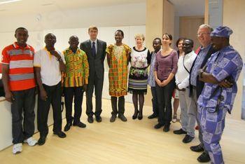 Obisk iz Gane