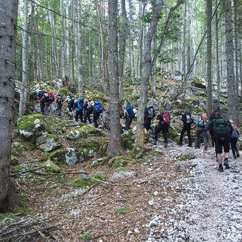 Sončna pot na Triglav s planinci PD Slovenj Gradec