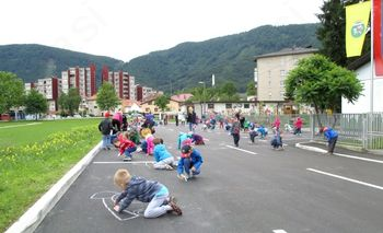 Dan vrtca Slovenske Konjice in otvoritev ceste
